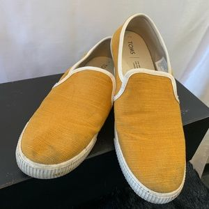 Toms Canvas Slip On Sneakers